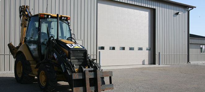Commercial and agriculture garage door service