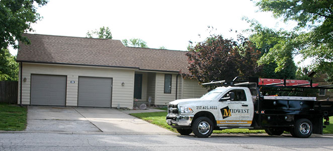 Midwest Garage Door Company Pawnee Il